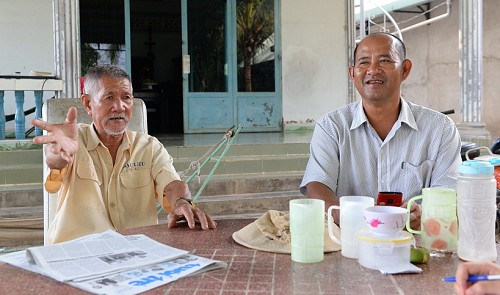 Father-son duo commit to combating sand theft in Ho Chi Minh City