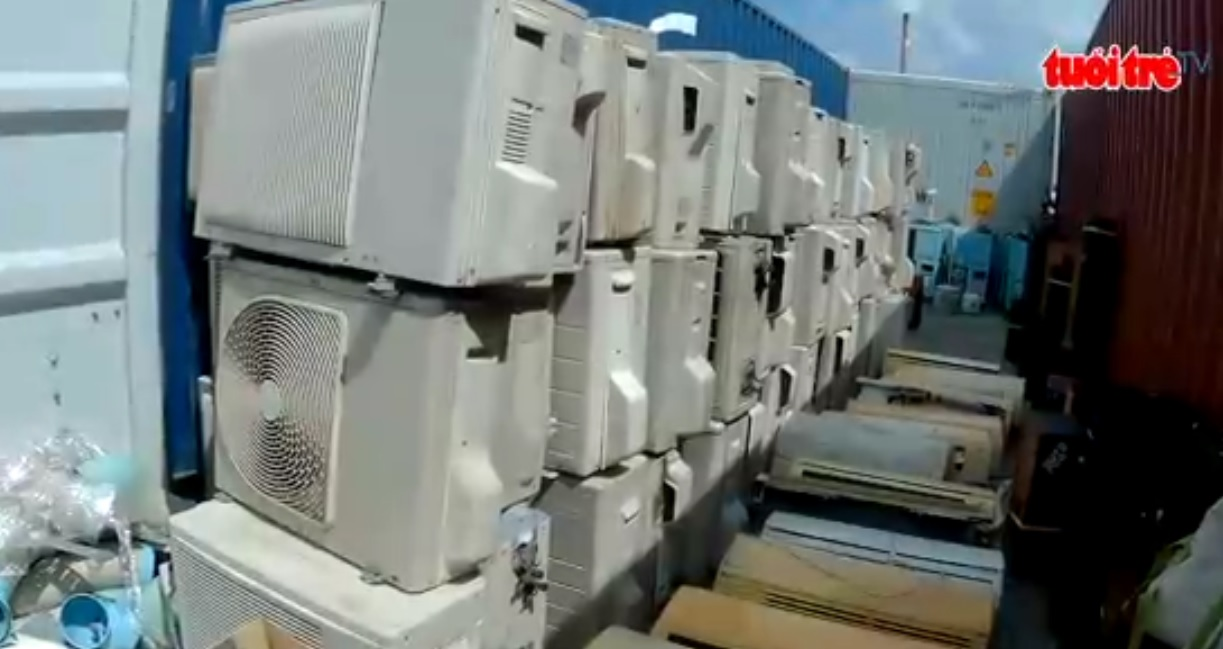 Vietnamese police bust illegal electronics shipment smuggled from Japan