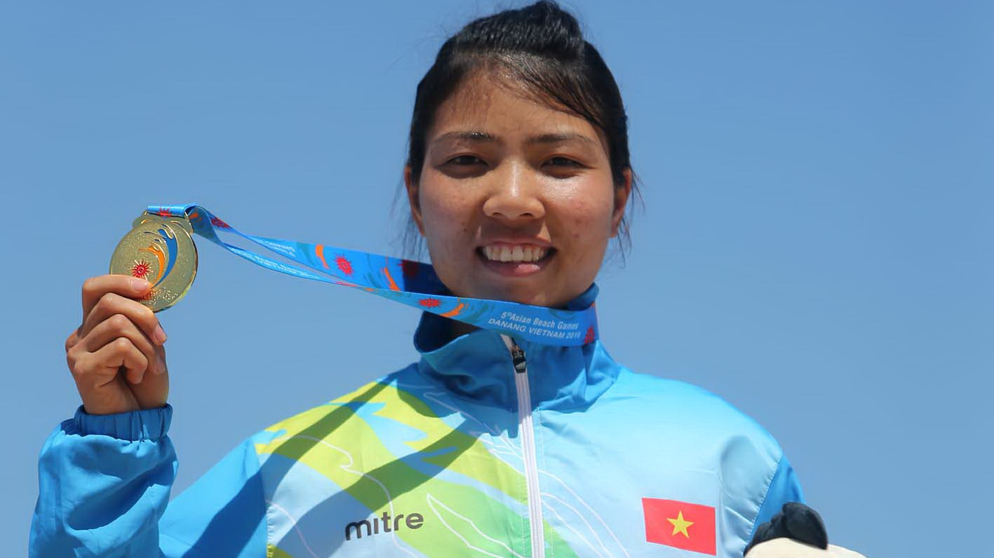 Host Vietnam tops 5th Asian Beach Games medal tally by a mile