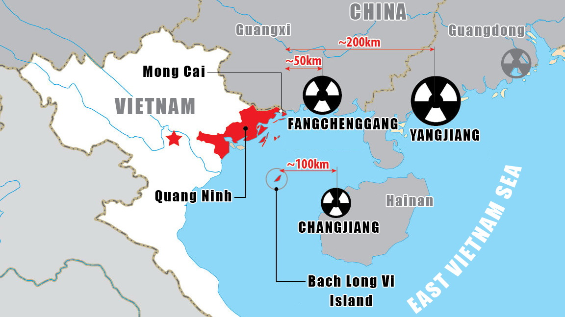 Vietnam seeks crisis response to Chinese border nuclear plants