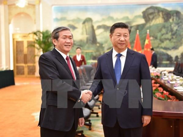 Vietnam, China pledge to cement political trust