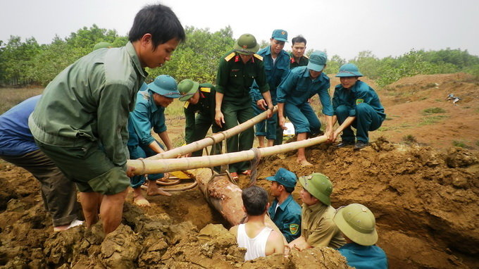 Vietnamese provinces still haunted by unexploded wartime ordnance: conference