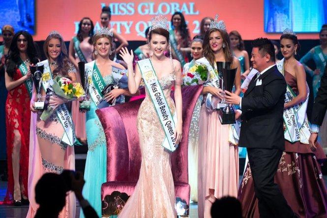Vietnamese model crowned Miss Global Beauty Queen