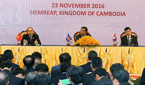 Vietnam, Laos, Cambodia aim to enhance economic ties
