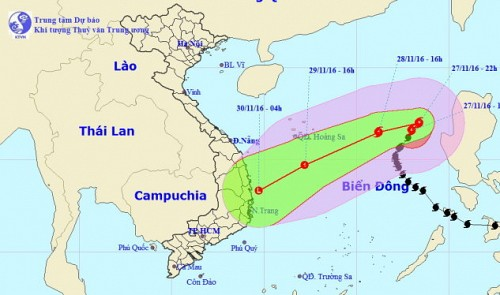 Vietnam military mobilizes 180,000 personnel, aircraft, ships to cope with storm Tokage