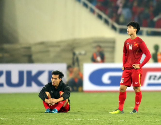 Sorrowful night: Vietnam's battle for AFF Cup final ends in despair
