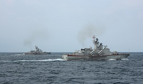 Aboard Vietnam's homebuilt missile-armed fast attack craft
