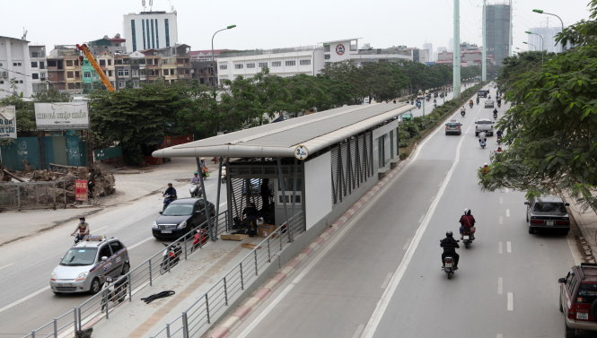 Challenges await Hanoi Bus Rapid Transit system as launch nears
