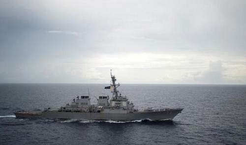 U.S. ready to confront Beijing on East Vietnam Sea: admiral