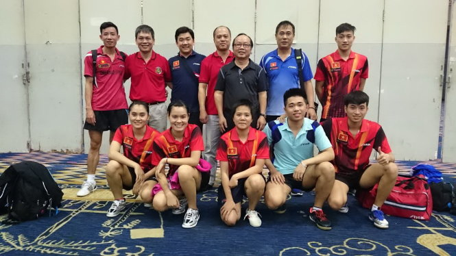 Vietnam claims haul of gold medals at SE Asia table tennis championship