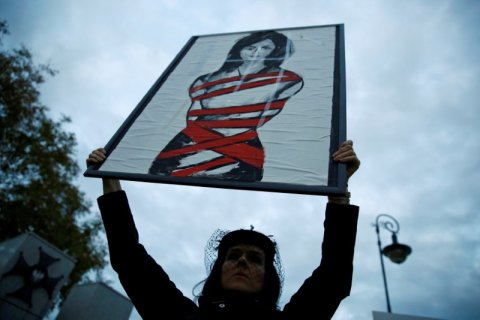 Women's rights face a daunting new year worldwide, campaigners warn
