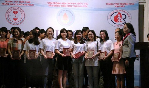 In Vietnam, people with rare blood type join donor club