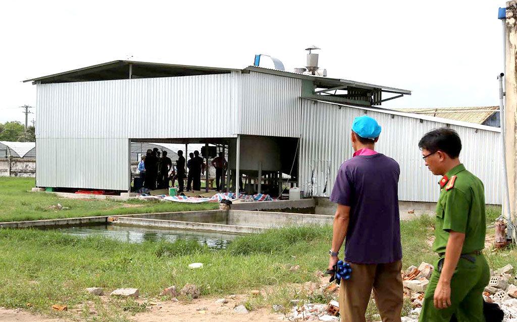 One Thai, four Vietnamese found dead at central Vietnam fish sauce facility