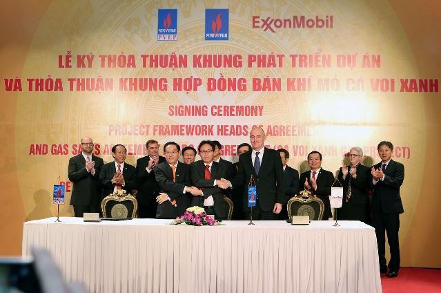 $10bn ExxonMobil-developed gas project initiated off central Vietnam