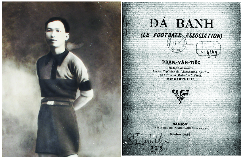 Pham Van Tiec: the doctor who wrote Vietnam's first football guidebook