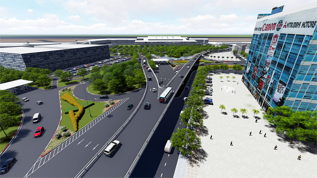 Two overpasses to be built near Tan Son Nhat airport to reduce jams