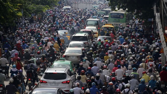 Ho Chi Minh City aims to halve traffic congestion spots by year-end