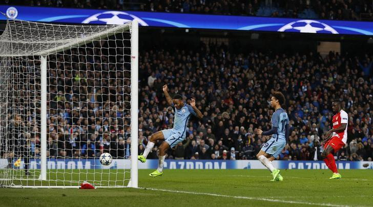 Five-star Manchester City edge thriller with Monaco