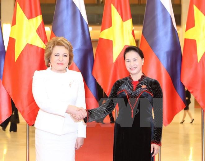 Vietnam, Russia to boost cooperation between legislatures