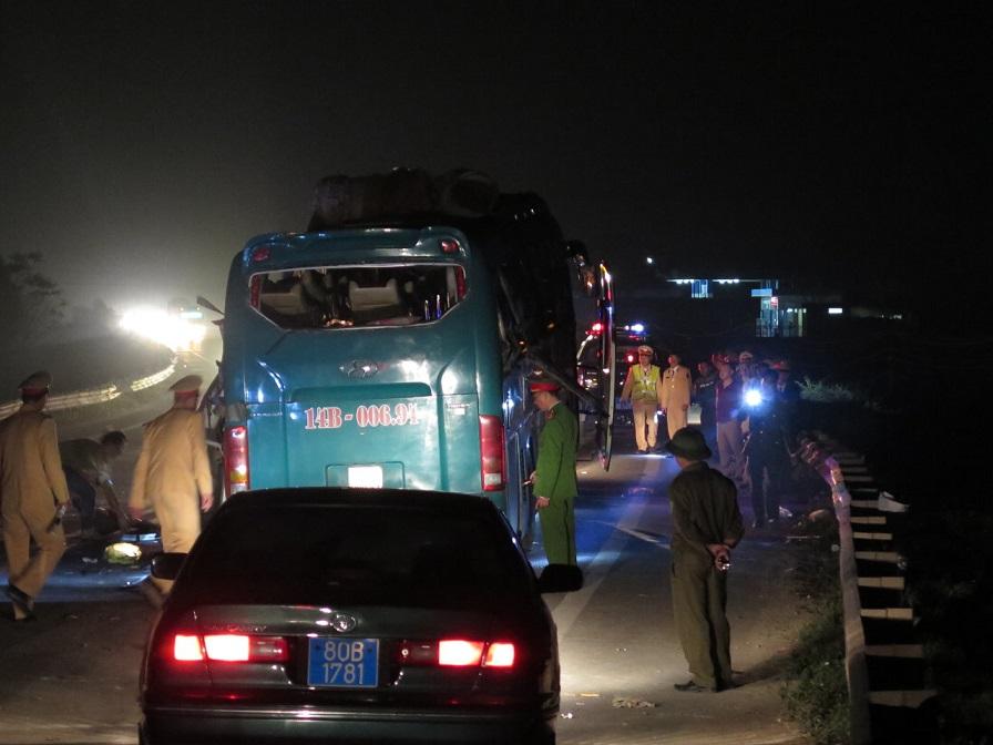 Sleeper bus blast in northern Vietnam caused by explosives: police