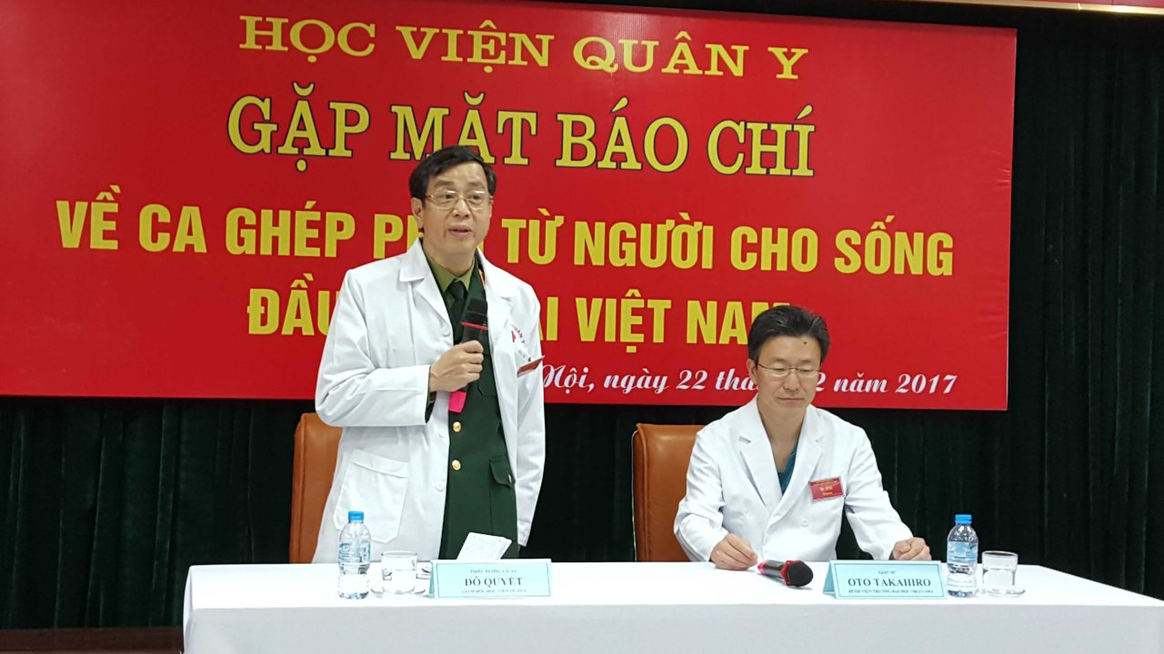 Vietnamese doctors conduct first lung transplant on young boy