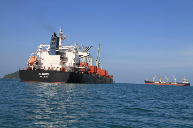 Tracing Vietnamese 'sand drain' to Singapore – P1: Where do the ships go?