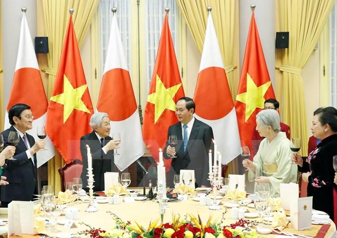 Japanese Emperor, Empress discuss Japan-Vietnam relationship