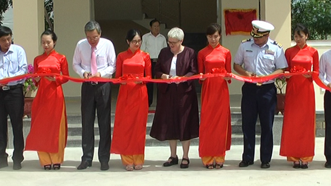 US-funded disaster mitigation center opens in Vietnam