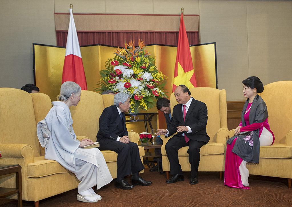 Japanese Emperor, Empress's visit an important milestone: Vietnam PM