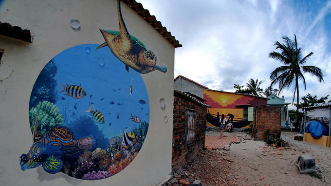 Remember this mural village in Vietnam? Its residents now offer homestay service