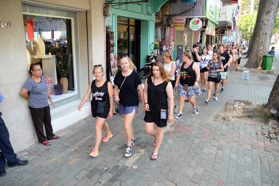 Downtown Ho Chi Minh City set to become pedestrian zone