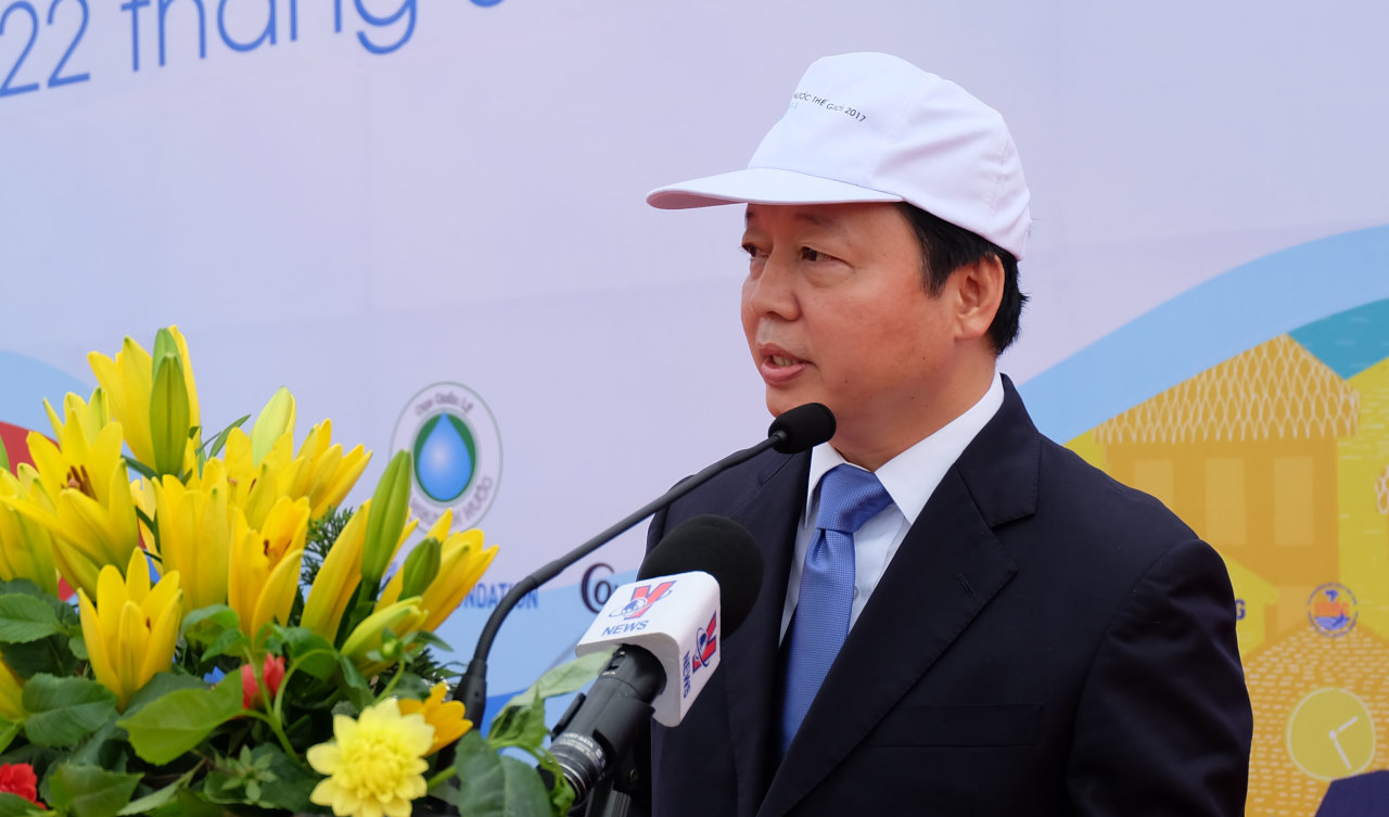 Environment minister urges water conservation in Vietnam