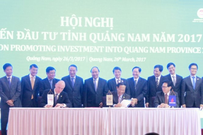 PetroVietnam, Exxon Mobil ink $10bn gas project agreement