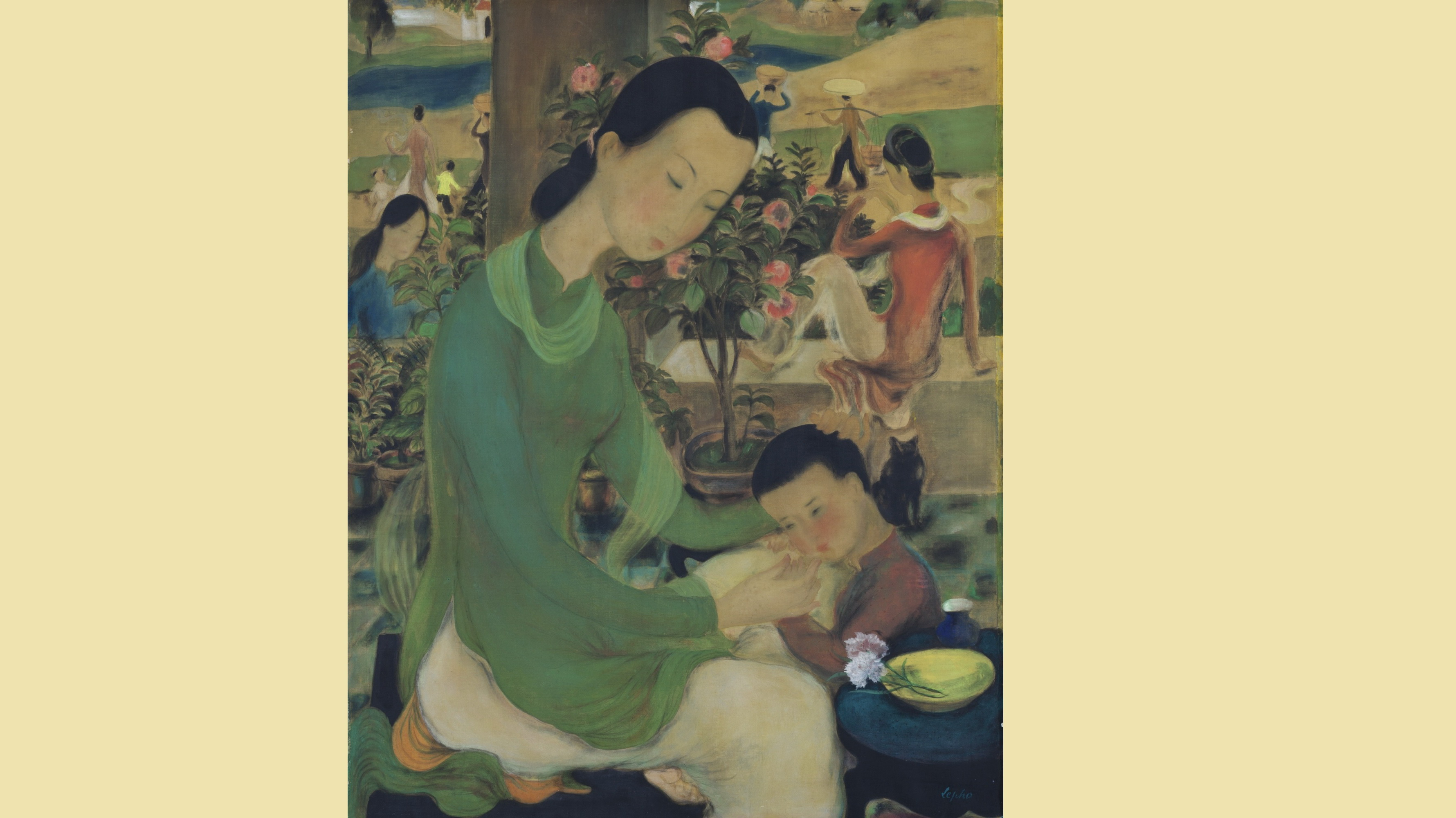 Vietnamese painting sold for record $1.2 million