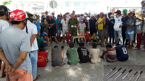 Street kids reprimanded for tourist muggings on Phu Quoc