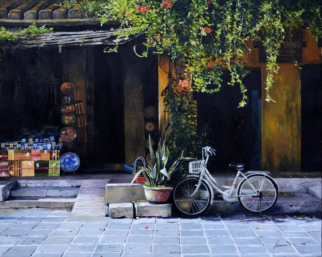 Peaceful Hoi An featured in oil paintings