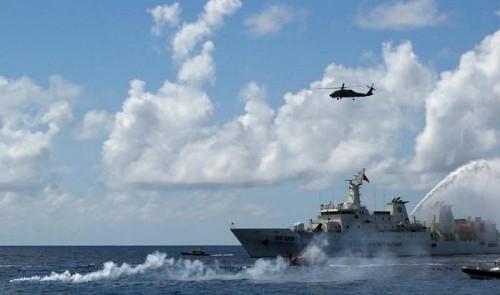 Vietnam labels Taiwan drills on disputed island 'serious violation'