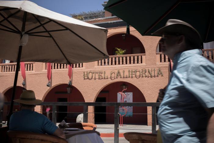 The Eagles sue Hotel California