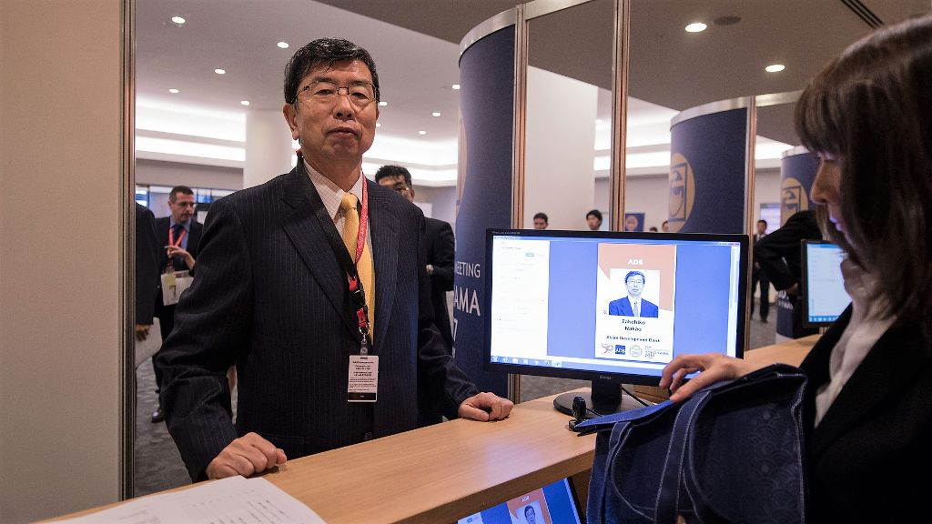 Delegates gather in Yokohama, Japan for ADB's 50th Annual Meeting
