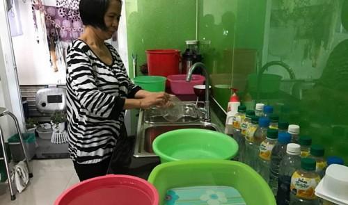 Residents in high-grade Saigon condo hit by water shortage