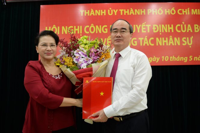 Vietnam's Politburo replaces top leader for Ho Chi Minh City