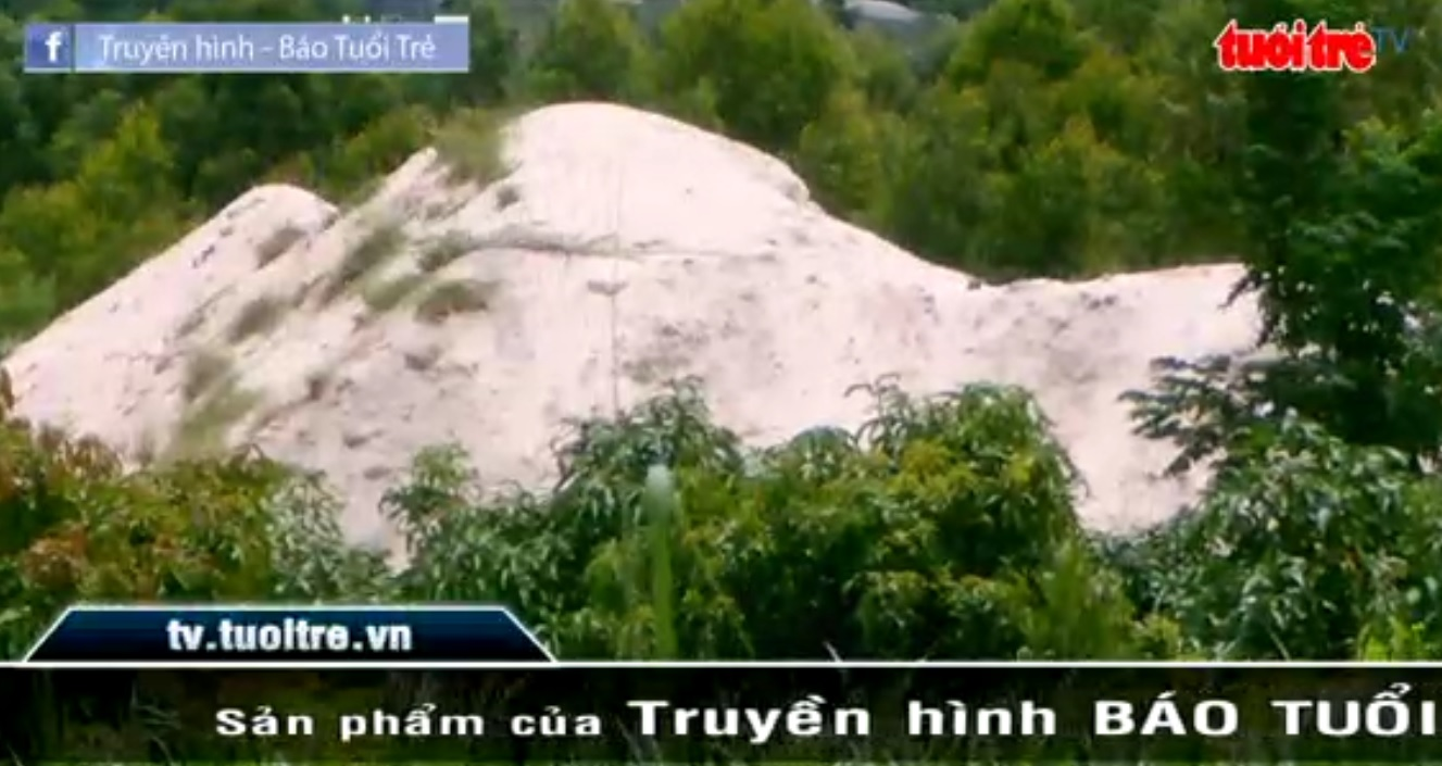 Illegal sand mining rampant in Khanh Hoa Province
