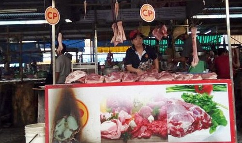 High-quality pork stall burned in suspected sabotage in southern Vietnam
