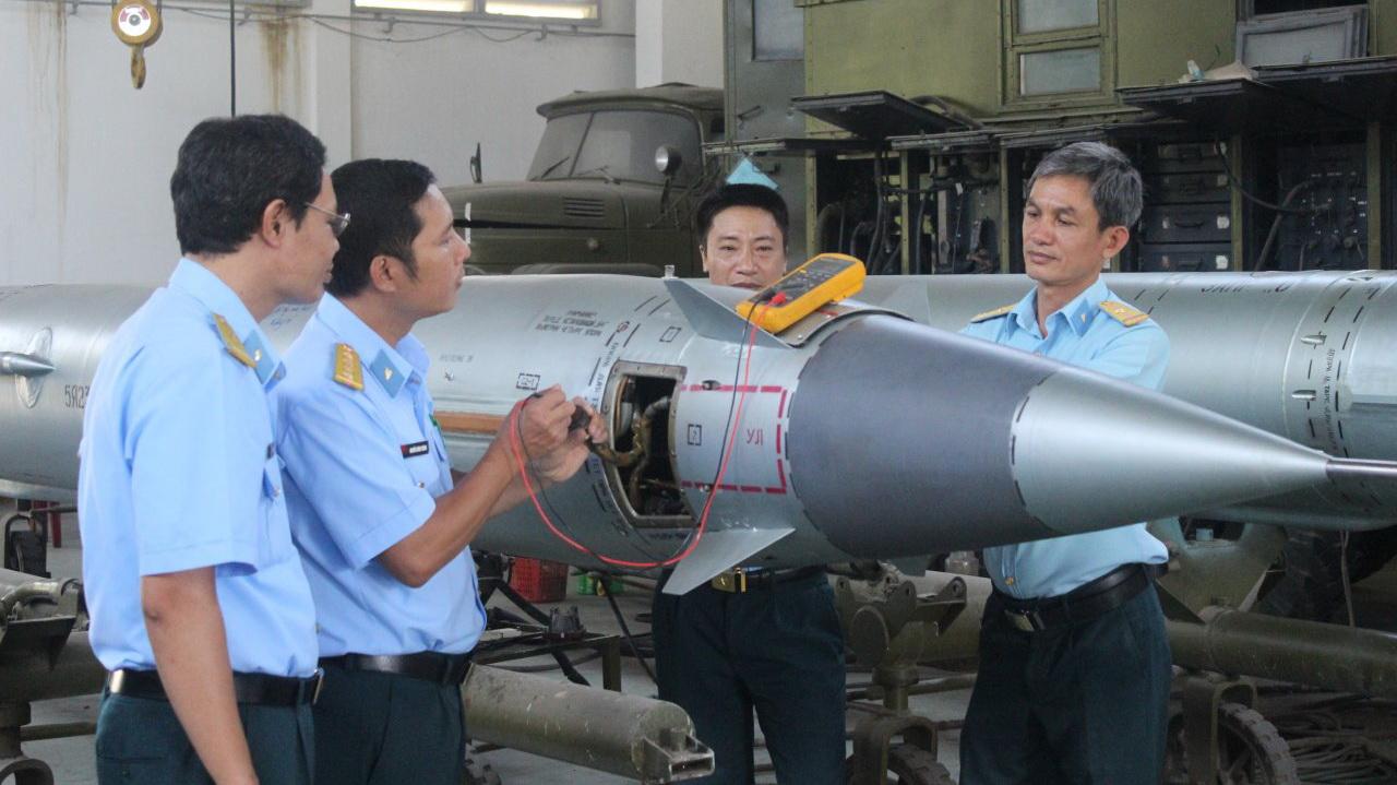 Inside Vietnam's missile repair factory