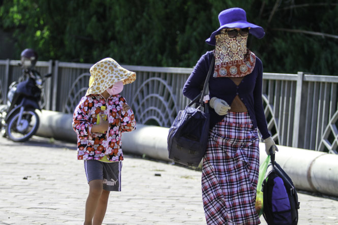 40°C hot spell to bake Hanoi this weekend