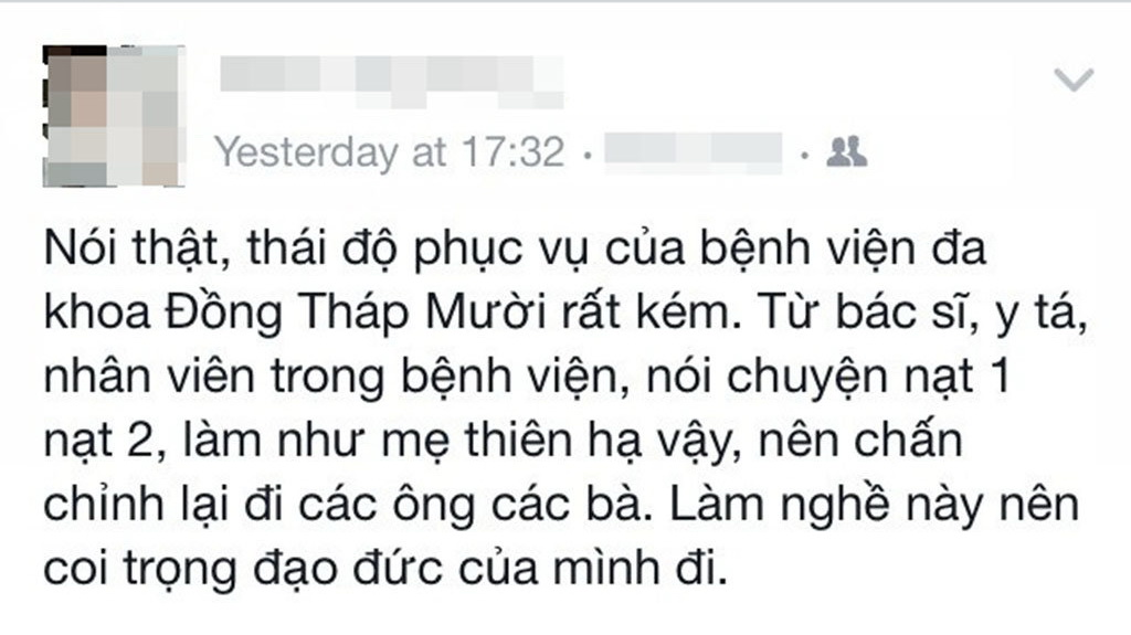Vietnamese 12th grader disciplined for 'besmirching' local hospital on Facebook