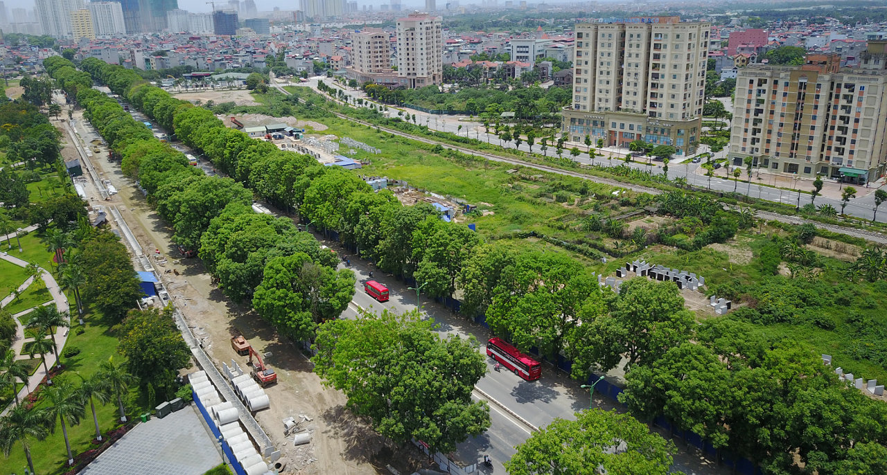 Hanoi to fell, relocate 1,300 decades-old trees