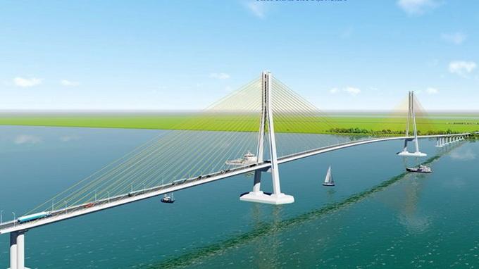 Bridge to shorten distance from Saigon to Mekong Delta
