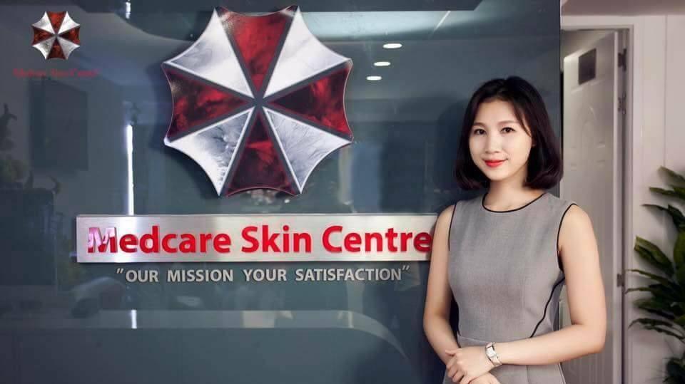 Vietnamese skin clinic uses logo of fictional evil pharmaceutical firm Resident Evil