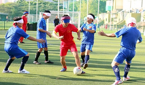 Football tournament for visually impaired held in Ho Chi Minh City
